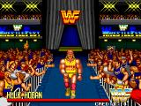 WWF WrestleFest Arcade Entering the ring.