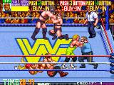 WWF WrestleFest Arcade Take your partner by the hand.