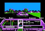 Techno Cop Apple II Elevation and trees and sluggish framerate