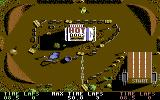 BMX Simulator Commodore 64 Gameplay on the first level