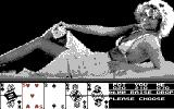 Hollywood Poker Commodore 64 Playing against Stephanie