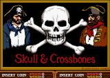 Skull & Crossbones Arcade Title Screen.