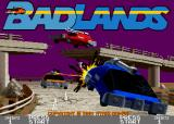 Badlands Arcade Title screen