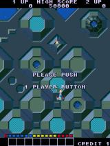 Alpha Mission Arcade Push button