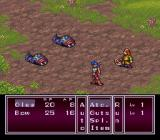 Breath of Fire II SNES Fighting some nasty things
