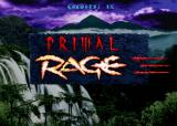 Primal Rage Arcade Title screen