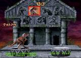 Primal Rage Arcade Player select