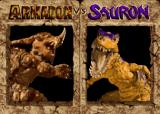Primal Rage Arcade Portraits before fight