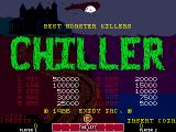 Chiller Arcade Title screen