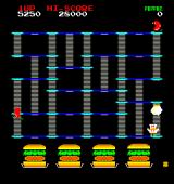 BurgerTime Arcade Level completed!