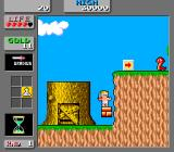 Wonder Boy in Monster Land Arcade On the platform