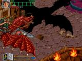 Wizard Fire Arcade Evil dragon