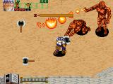 Wizard Fire Arcade Two stone fire giants