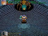 Wizard Fire Arcade Spider web