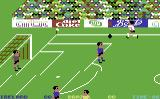 World Cup Commodore 64 On the attack.