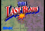 The Last Blade Arcade Title screen