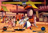 The Last Blade Arcade Akari uses stick