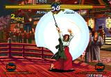 The Last Blade Arcade Moriya use blade to deadly circle