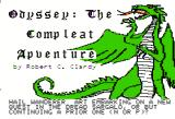 Odyssey: The Compleat Apventure Apple II The title screen.