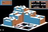 Crystal Castles Apple II Gameplay on the first level