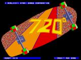 720º Arcade Title Screen.