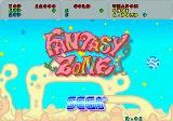 Fantasy Zone Arcade Title screen