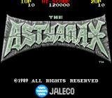 Astyanax Arcade Title Screen.