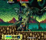 Astyanax Arcade Two air attacks.