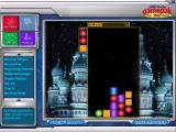 Ultimate Game Pak Windows This Tetris clone is called 'Vertical Drop', it's in the Puzzle section