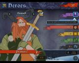 The Banner Saga Windows Heroes - A character sheet for each hero may be access via the hero rooster. Indicating their abilities and option to promote (level up) them.