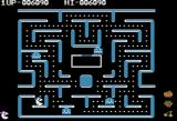 Ms. Pac-Man Apple II You can chase the ghosts when they are blue