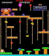 Donkey Kong Junior Arcade Stage 1