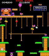 Donkey Kong Junior Arcade Stage 2