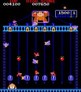 Donkey Kong Junior Arcade Stage 4