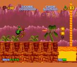 Daffy Duck: The Marvin Missions SNES In-game action!