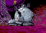 Teenage Mutant Ninja Turtles Arcade Last stage - search for technodrome