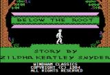 Below the Root Apple II Title screen
