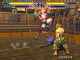 Bloody Roar Arcade Knee in head