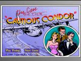 The Case of the Cautious Condor FM Towns Main menu