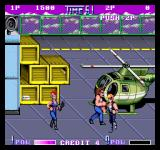 Double Dragon II: The Revenge Arcade Beat them up.