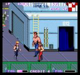 Double Dragon II: The Revenge Arcade A big guy.