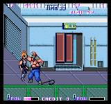 Double Dragon II: The Revenge Arcade That has to hurt.