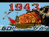 1943: The Battle of Midway Amiga Title Screen