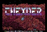 Thexder Apple II Title screen