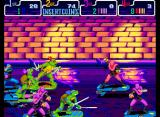 Teenage Mutant Ninja Turtles: Turtles in Time Arcade Scene 3 sewer surfin'