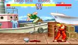 Street Fighter II Arcade Spinning kick