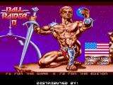 Ball Raider II Amiga Title Screen