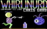 Whirlinurd Commodore 64 Title Screen.