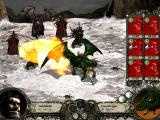 Disciples II: Dark Prophecy Windows Dragons are very efficient in hunting for food (in this case my troops), since they roast their prey before they catch it!
