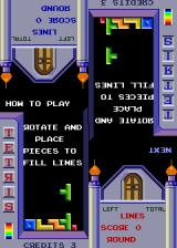 Tetris Arcade Instructions.